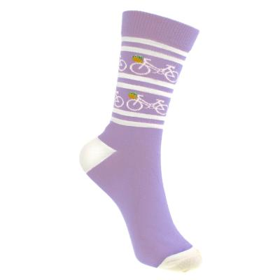 Bamboo socks, lilac, Shoe size: UK 3-7, Euro 36-41