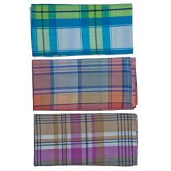 Set of 3 handkerchiefs, checks