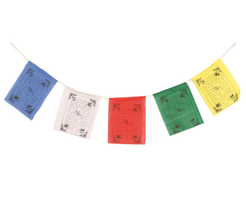 Prayer flags small 5 flags