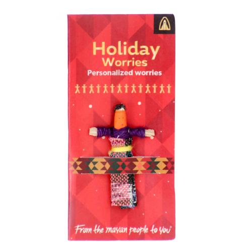 Worry doll mini, holiday worries
