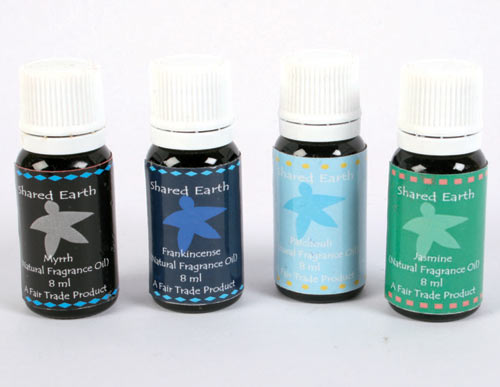 Fragrance oil frankincense