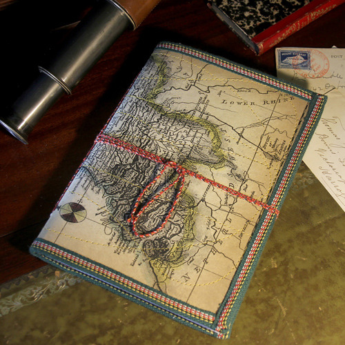Notebook map