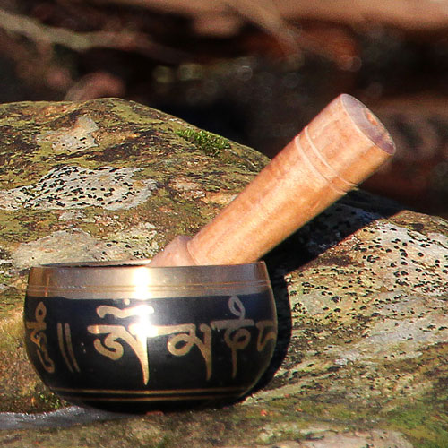 Singing bowl black 250g