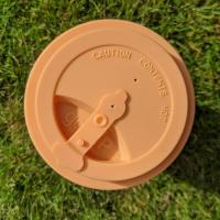 Reusable travel cup, biodegradable, stags