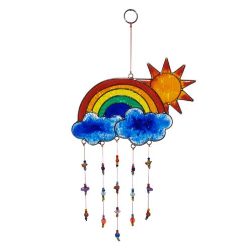 Suncatcher sun and rainbow
