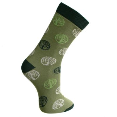 Bamboo socks, tree of life, Shoe size: UK 7-11, Euro 41-47