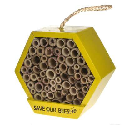 Bee/bug house hexagonal, save our bees