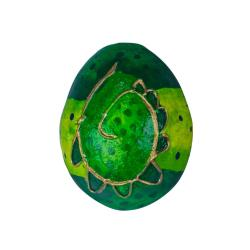 Egg rattle green