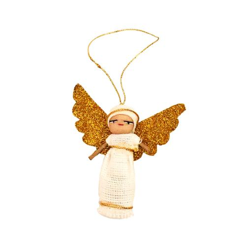 Worry doll angel, single, 6cm