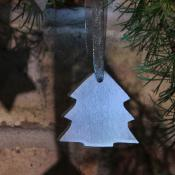 Hanging tree, stone, Christmas decoration