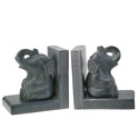 Bookends elephants