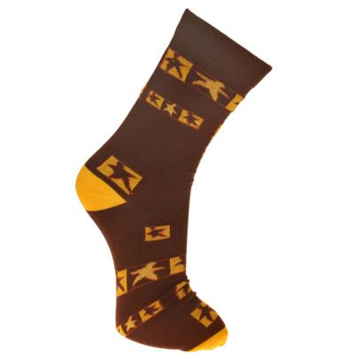 Bamboo socks, dancing people, Shoe size: UK 7-11, Euro 41-47