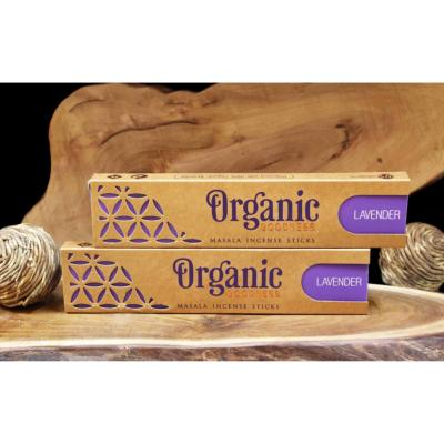 Incense, Organic Goodness, lavender