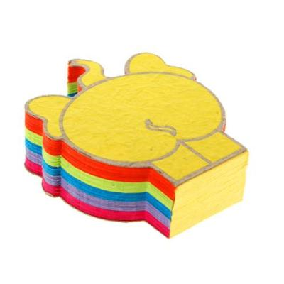 Elephant poo jotter pad, rainbow colours
