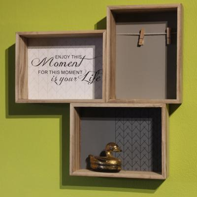 Shelf, 3 compartments **